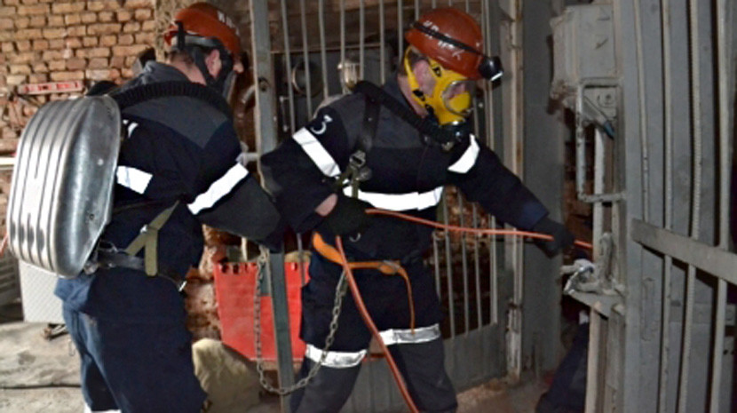 Один рабочий находится под завалами после обрушения на шахте под Челябинском