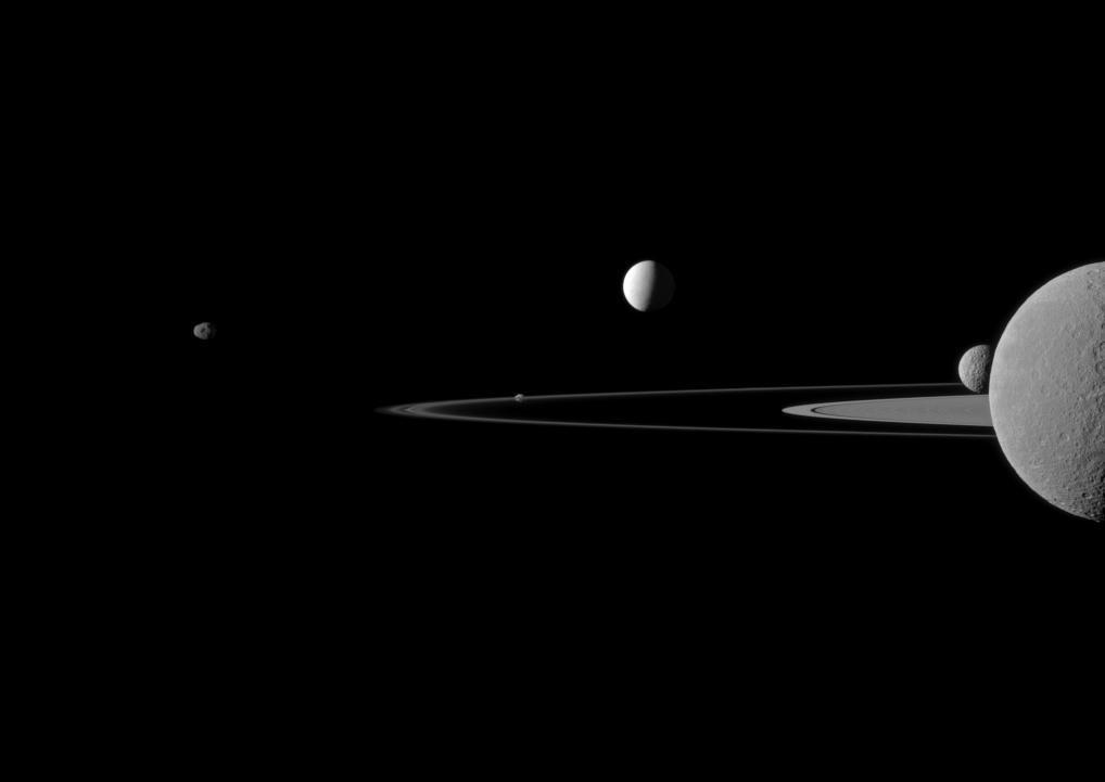 Конечная станция: космический аппарат «Кассини» начал последний этап изучения Сатурна