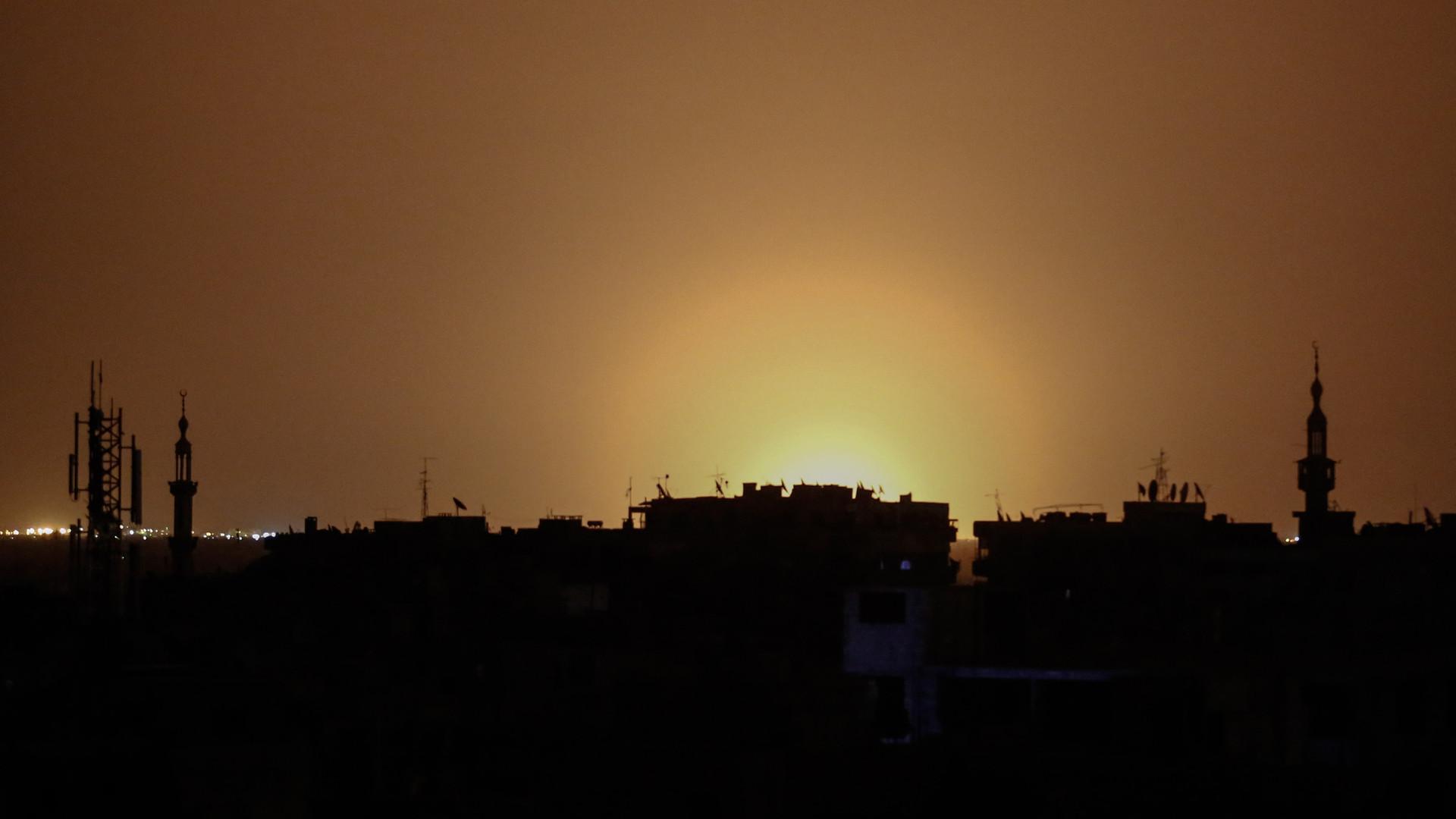 «Совместимо с нашей политикой»: Израиль об ударе по окрестностям  Дамаска
