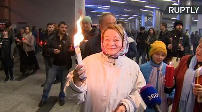 Благодатный огонь прибыл из Иерусалима в Москву