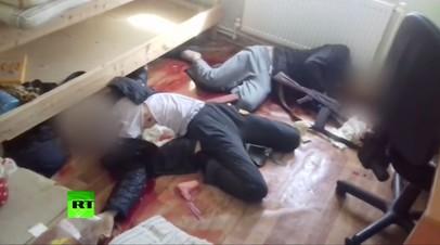 ФСБ опубликовала видео с ликвидированными под Владимиром боевиками