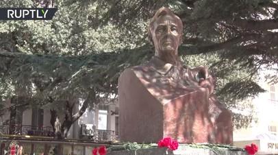 Добро пожаловать, мистер президент: памятник Франклину Рузвельту открыли в Крыму