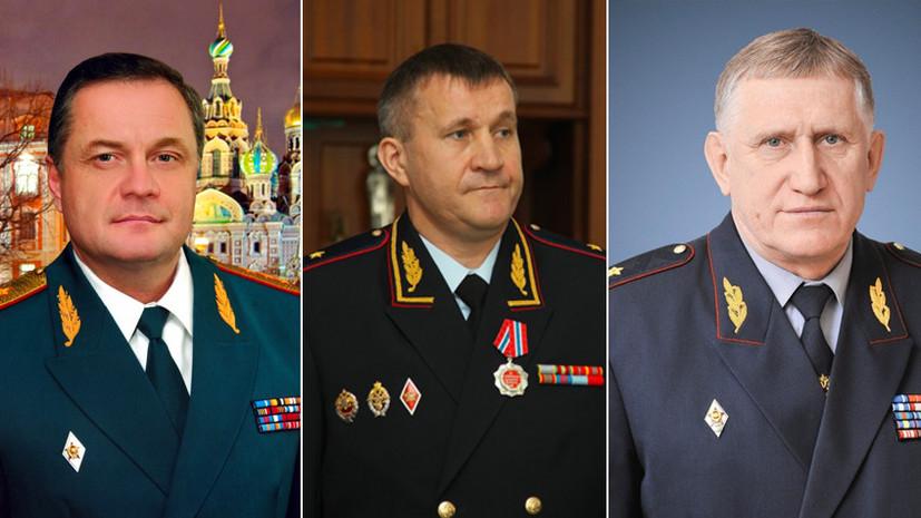 Силовые сокращения: Путин уволил 13 генералов МВД, СКР, МЧС и ФСИН