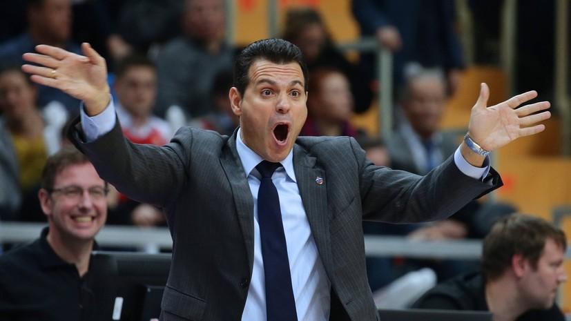 «Если я неопытен, что говорить об игроках»: тренер ПБК ЦСКА о «Финале четырёх» Евролиги