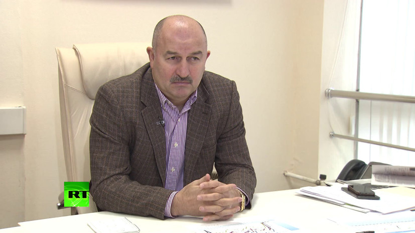 «У сборной России по футболу нет никаких проблем»: Черчесов дал интервью RT