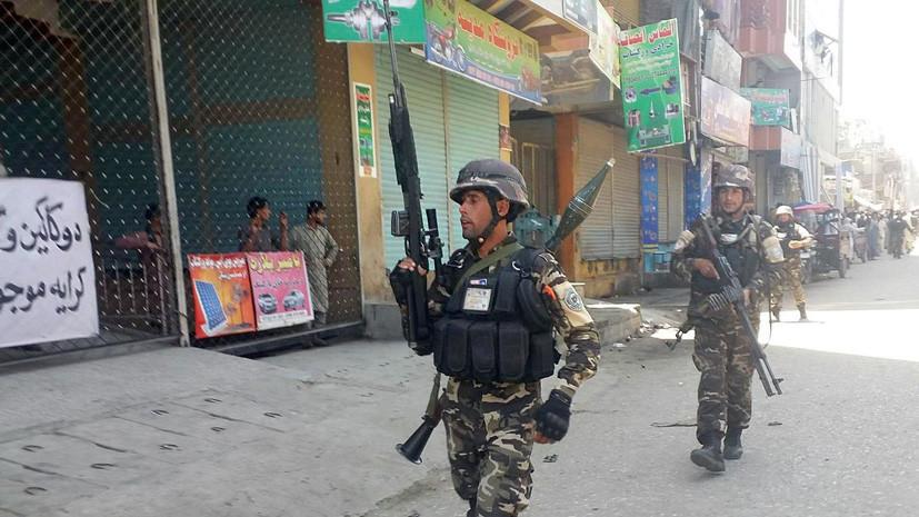 На востоке Афганистана совершено нападение на здание телерадиокомпании