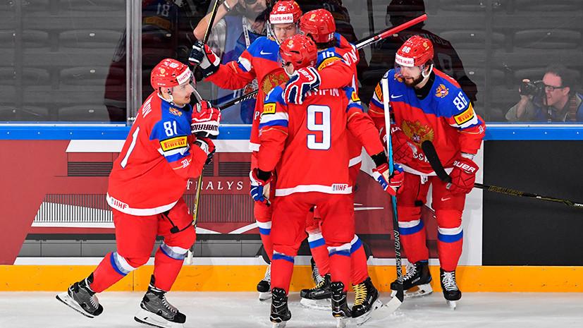 Канада, берегись: Россия разгромила Чехию в четвертьфинале ЧМ по хоккею