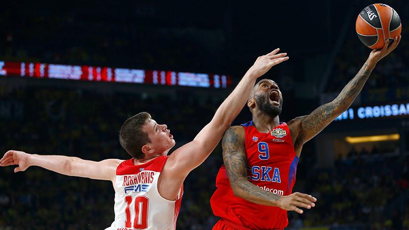 Греческое проклятие: ЦСКА вновь проиграл «Олимпиакосу» в полуфинале баскетбольной Евролиги