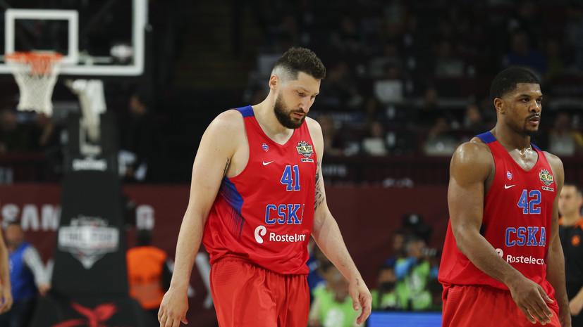 «Матч за третье место ничего не значит»: игроки ЦСКА о поражении в полуфинале Евролиги