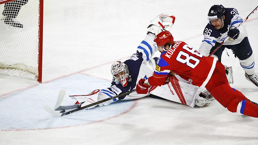 Россия встречается с Финляндией в матче за 3-е место на ЧМ
