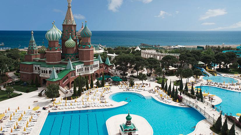 Туризм по-русски: для летнего отдыха россияне выбирают Турцию, Грецию и Кипр
