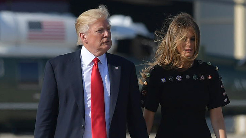 в Вашингтоне Трампа встретили скандалом и низким рейтингом