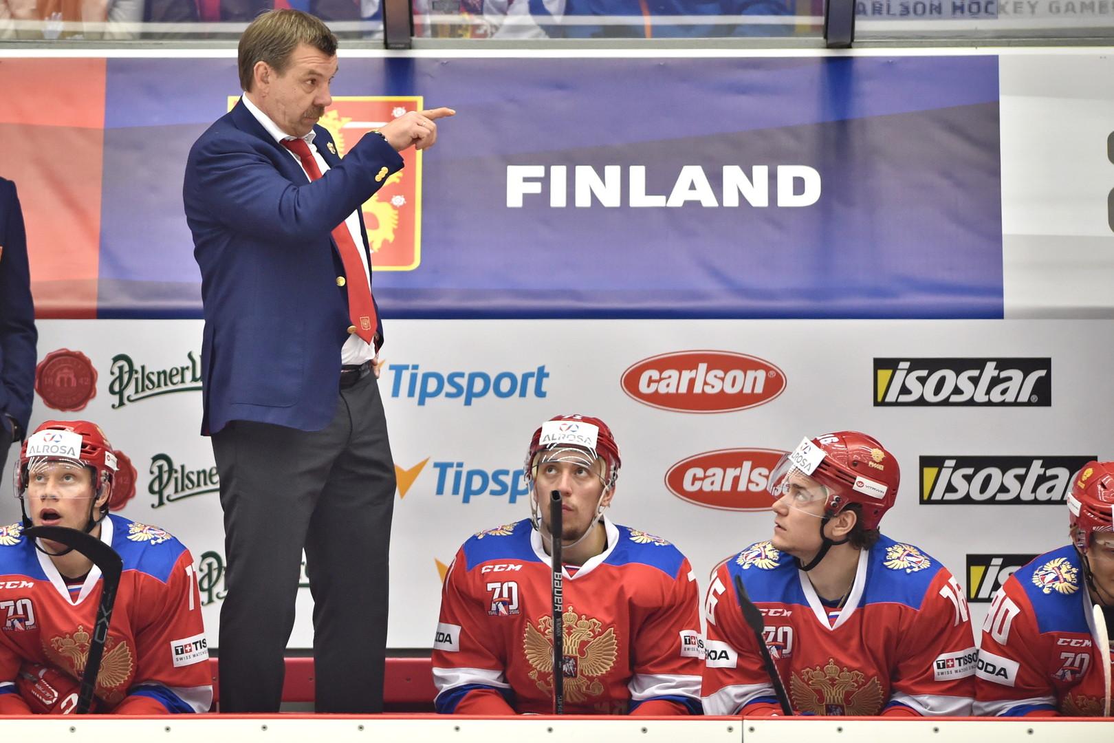 «Едем бороться за золото»: объявлен состав сборной России на ЧМ по хоккею