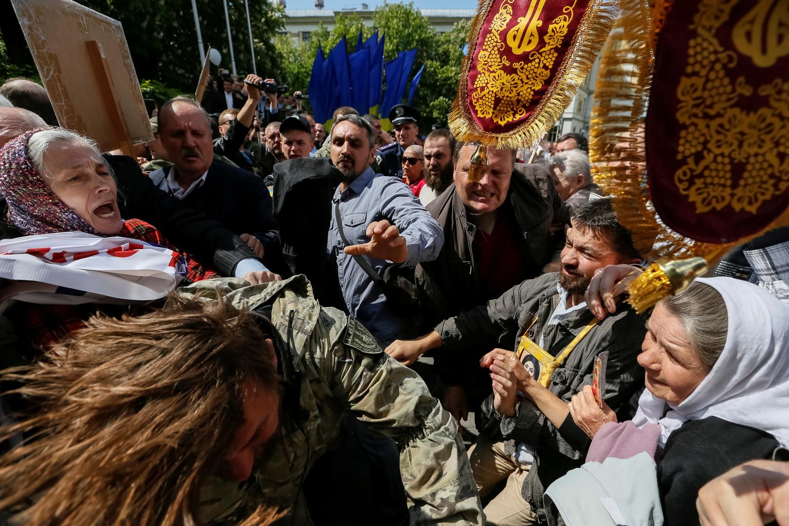 «Смертный полк»: националисты угрожают сорвать празднование 9 Мая в Киеве