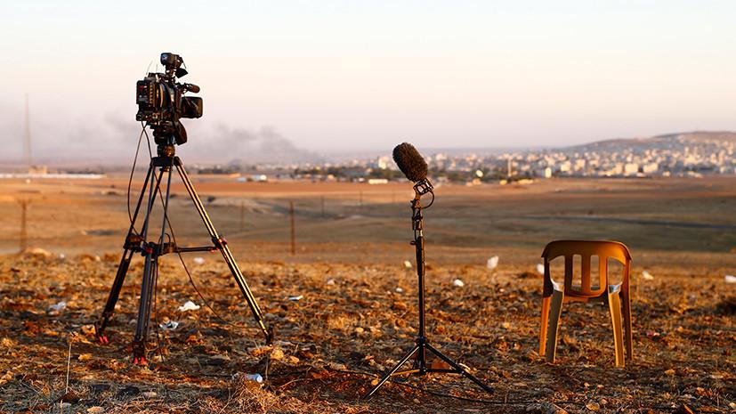 Центр попримирению проинформировал опостановочных съёмках последствий «химатак» вСирии