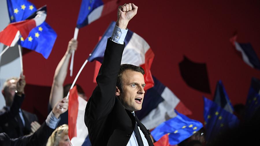 Выборы во Франции: Макрон победил, Ле Пен признала поражение