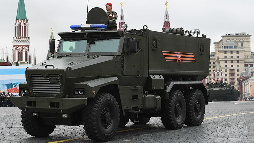 Поступь «Тигра»: российские бронемашины нового поколения могут появиться в 2018 году