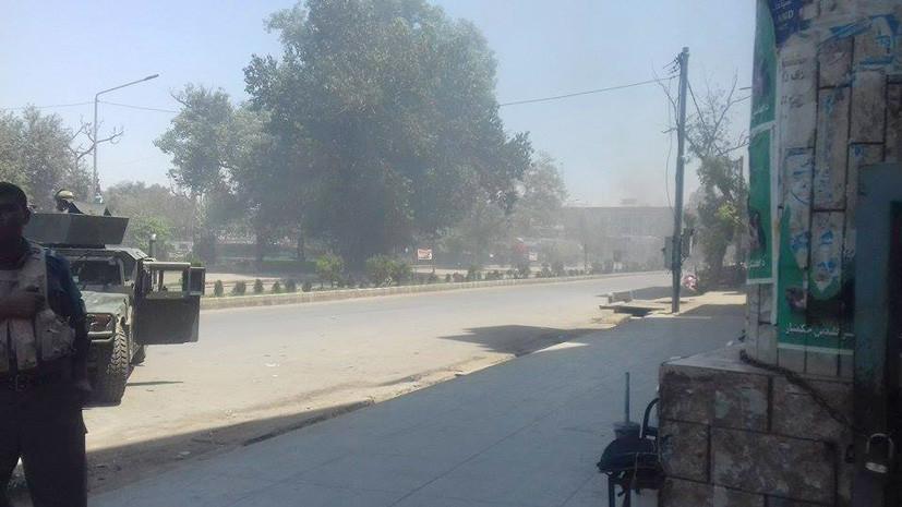 СМИ: В результате атаки на телекомпанию в Афганистане погибли два человека