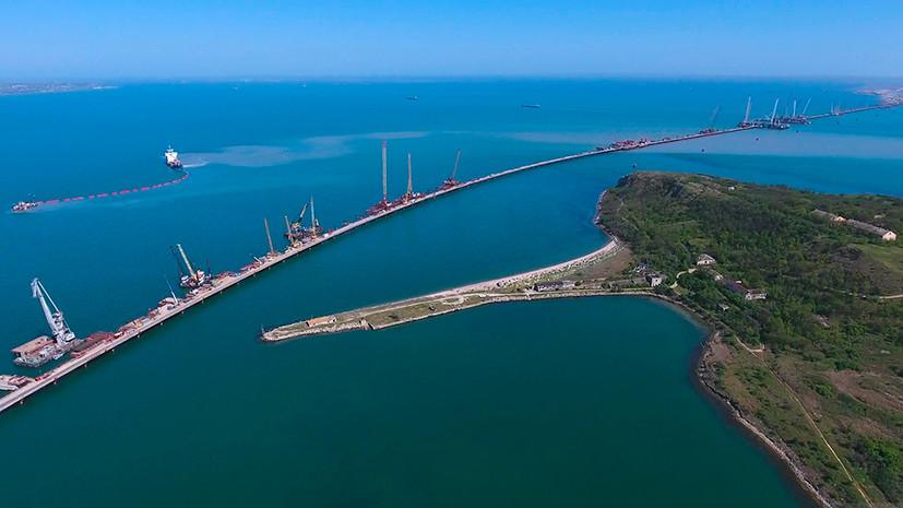 RT снимает документальный фильм про Крымский мост