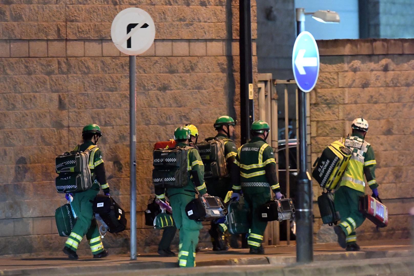 В Манчестере произошёл теракт.