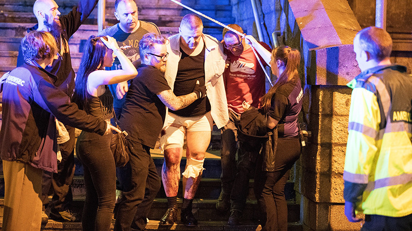 Очевидцы рассказали RT о взрыве в Манчестере