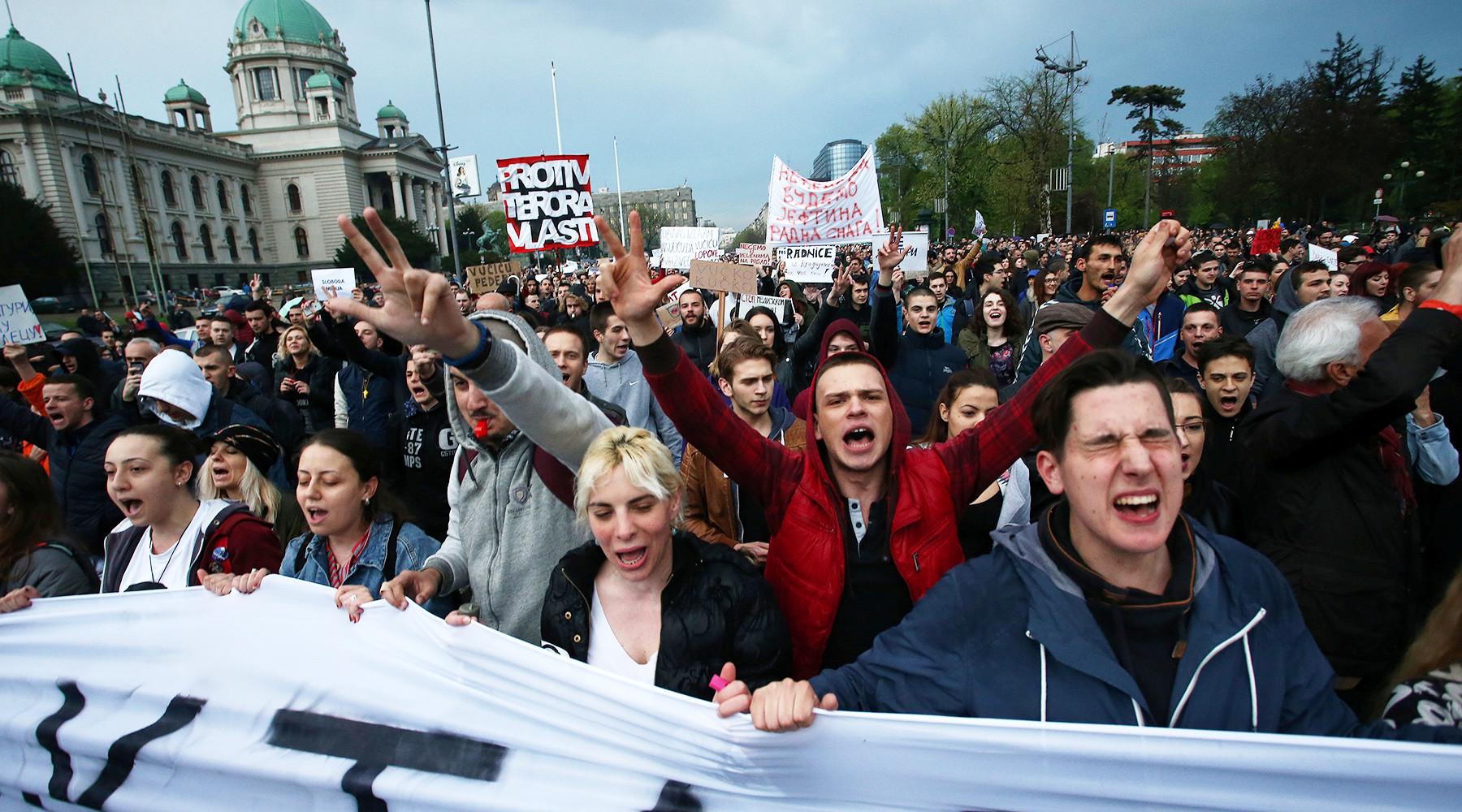 США будут лоббировать изменения в законе о СМИ в Сербии