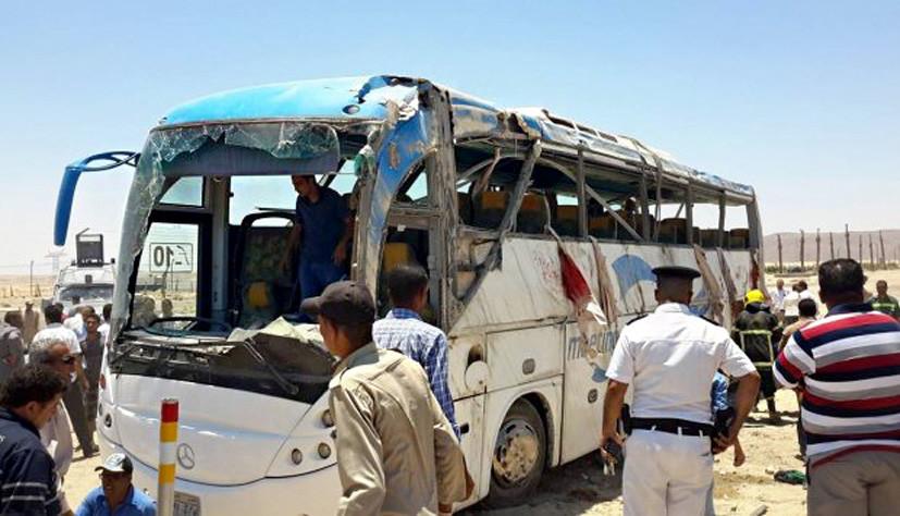 Минздрав Египта заявил о гибели 23 человек при нападении на автобус с христианами