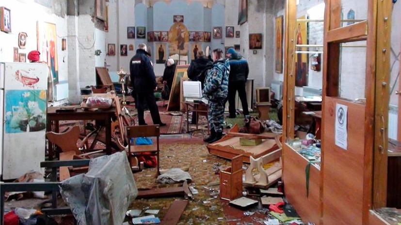 Неизвестные осквернили храм УПЦ Московского патриархата назападе государства Украины