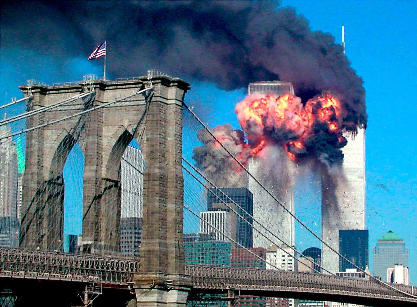 september eleventh 2001 attack on america September 11 2001 tribute and a watch of what happend that horrible morning near world trade center buildings victims and relatives must have peace and justice.