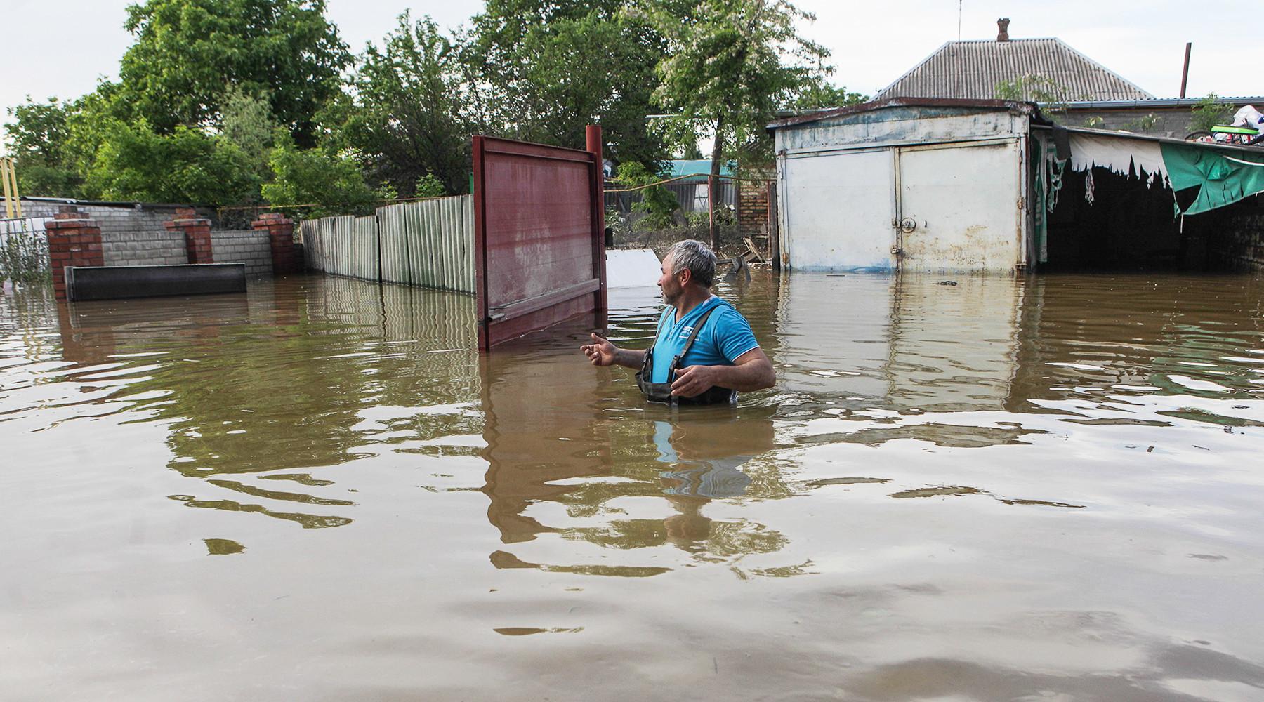 Губернатор Ставрополья объявил об эвакуации жителей семи поселений из-за паводка
