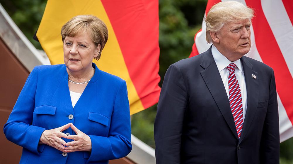 Берлинская стена: почему Трамп пошёл на охлаждение отношений с Германией
