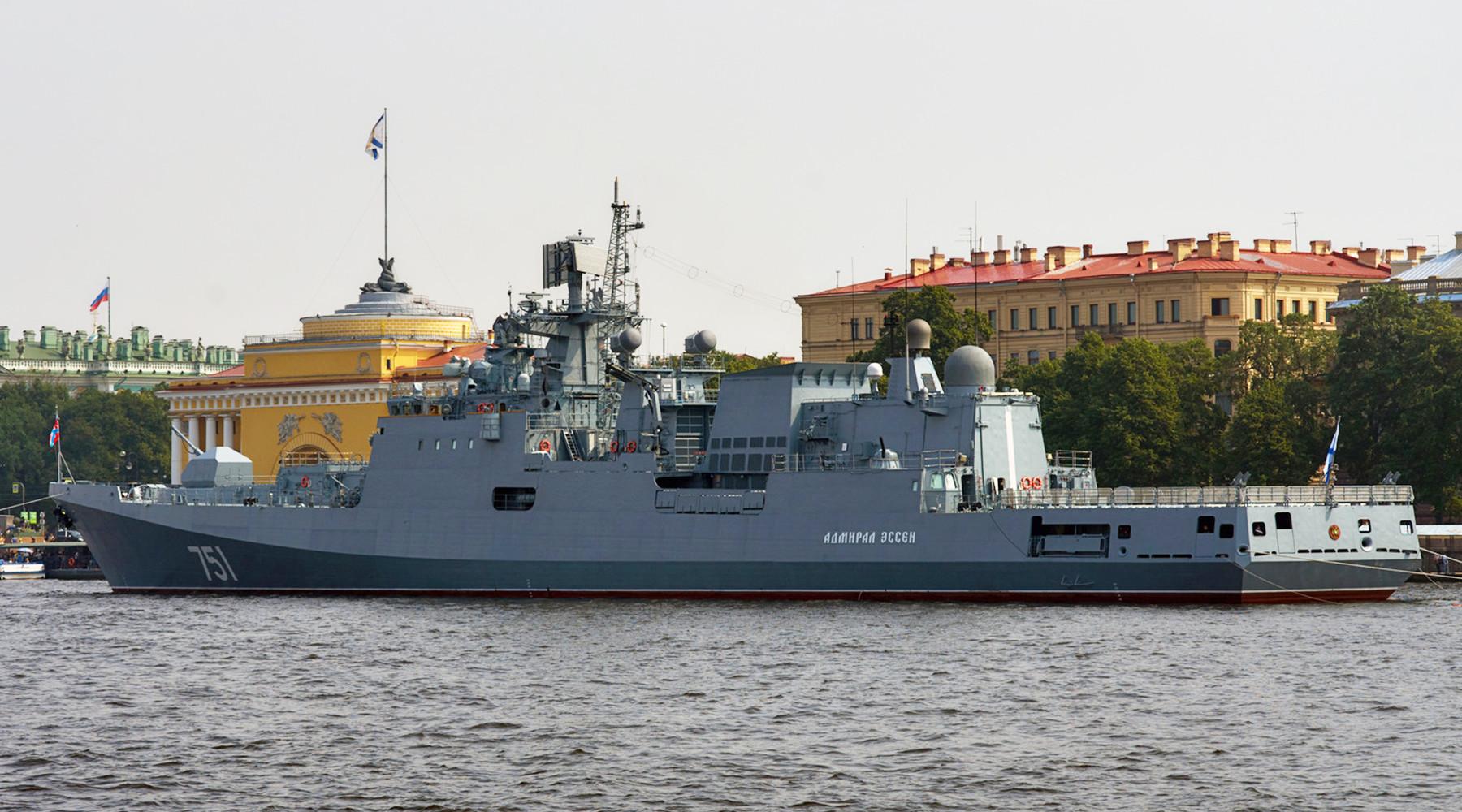 Минобороны: корабли ВМФ России запустили крылатые ракеты по объектам ИГ в районе Пальмиры