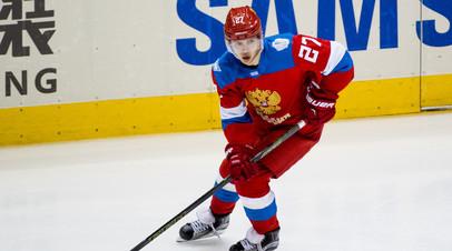 Хоккеист «Чикаго» и сборной России Артемий Панарин