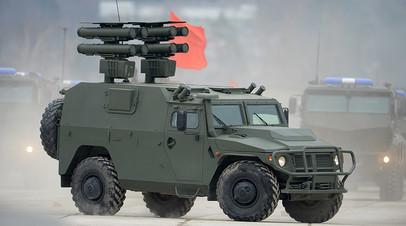 Бронеавтомобиль «Тигр» с противотанковым ракетным комплексом «Корнет»