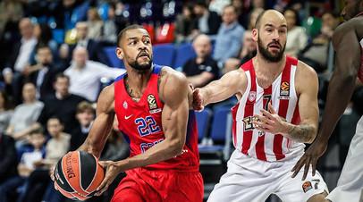 Грек против греков: ЦСКА прибыл на полуфинал баскетбольной Евролиги с «Олимпиакосом»