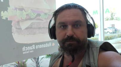 Алексей Макеев, избитый в Мексике из-за неадекватного поведения.