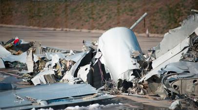 Дезориентация пилота: в Минобороны назвали причину крушения Ту-154 в районе Сочи