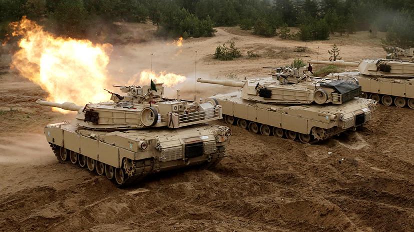 Новые силы к российской границе: США перебрасывают войска в Латвию для учений