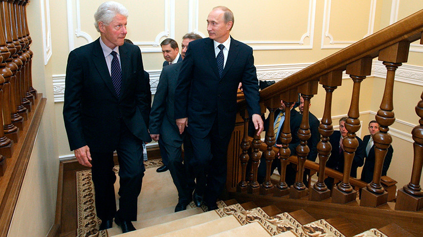 Путин предлагал Клинтону рассмотреть вступление России в НАТО