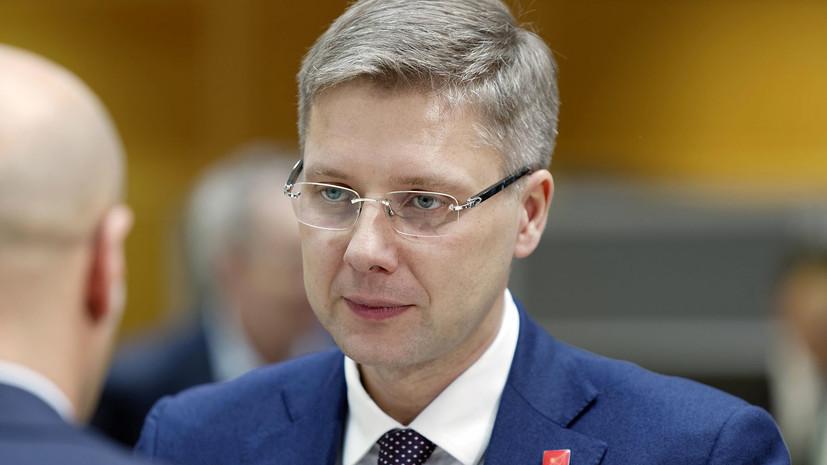 Мэр Риги Ушаков сообщил о лидерстве своей партии на выборах в Рижскую думу