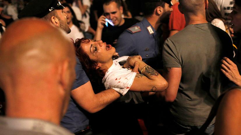 «Кругом был хаос»: 1400 человек пострадали во время давки после просмотра финала ЛЧ в Турине
