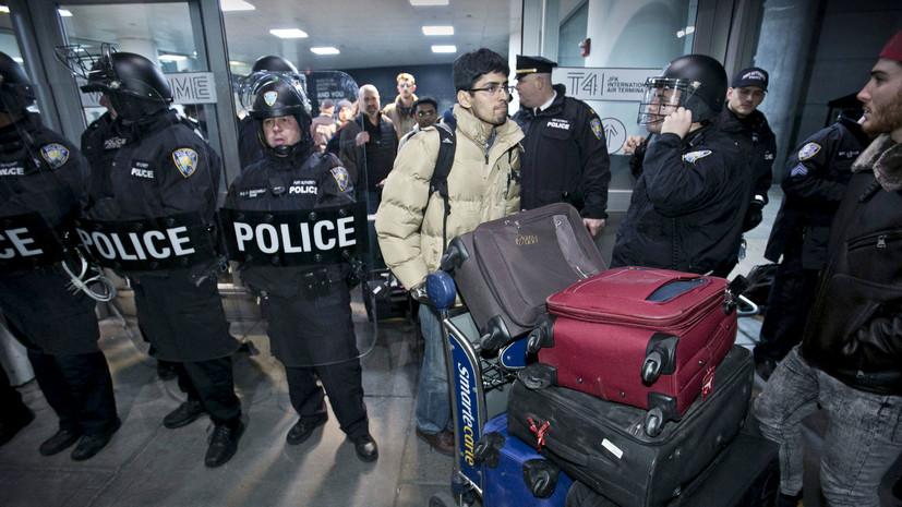 кто продвигает запрет на въезд в США для мусульман