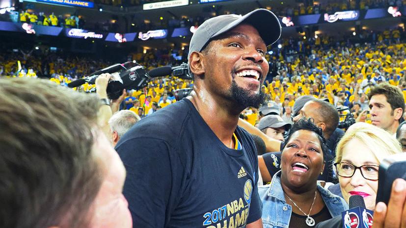 Американская мечта: «Голден Стэйт» отомстил лучшему баскетболисту планеты и намеревается захватить НБА