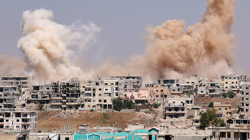 Защита Дейр эз-Зора: ВКС России уничтожили в Сирии двух командиров ИГ и около 180 боевиков