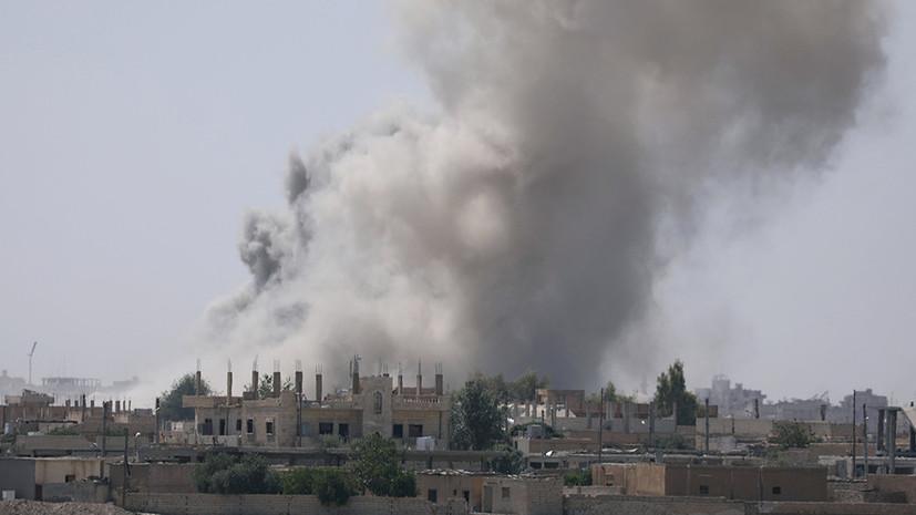 Минобороны САР сообщило о сбитом коалицией самолёте сирийских ВВС в районе Ракки