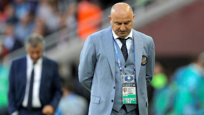 «У нас есть чёткое понимание, что делать дальше»: Черчесов и Сантуш о матче Россия — Португалия