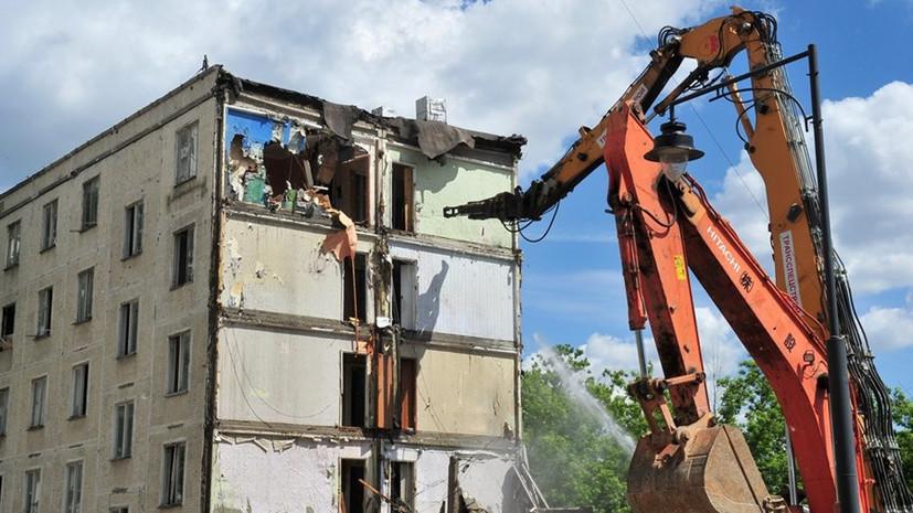 Пути отходов: как будут использовать строительный мусор от сноса хрущёвок
