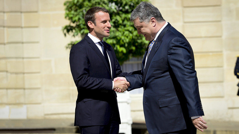 «Формула Макрона»: что обсуждали президенты Украины и Франции в Париже