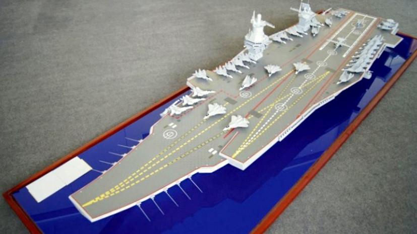 Россия должна получить три новых авианесущих корабля »