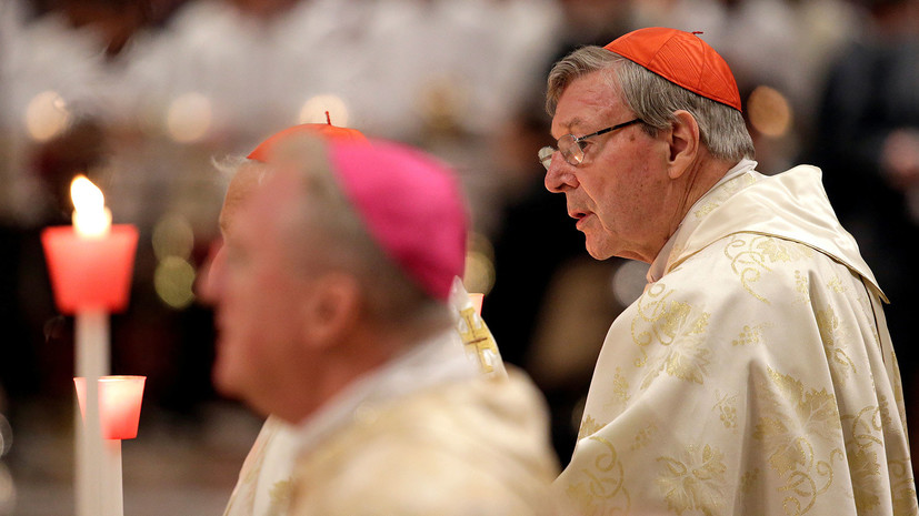 Кардинальное грехопадение: казначея Ватикана обвиняют в сексуальных преступлениях